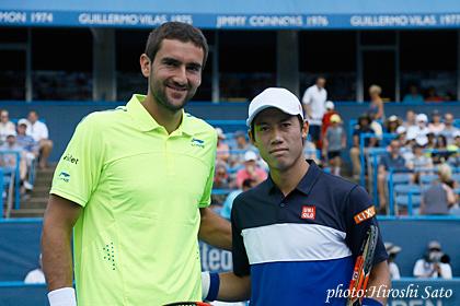 錦織圭シティオープンテニス大会...